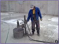 CONCRETE CORE DRILLING - LARGE DIAMETERS